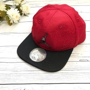Red Toddler Jordan Jumpman Baseball Cap